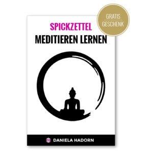 spickzettel meditation lernen